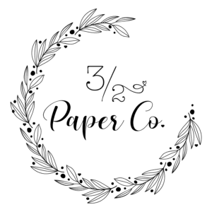 32 Paper Company Logo by JKCC custom printing and logo graphic design shop in northeast Kansas