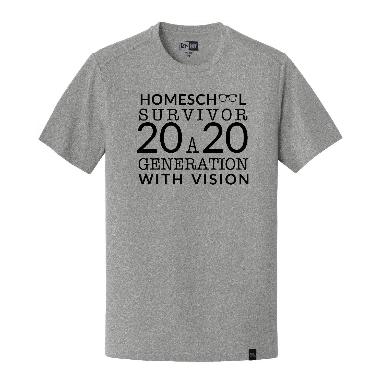 Homeschool Custom tee shirt print designed by JKCC custom printing and design shop in Paola KS