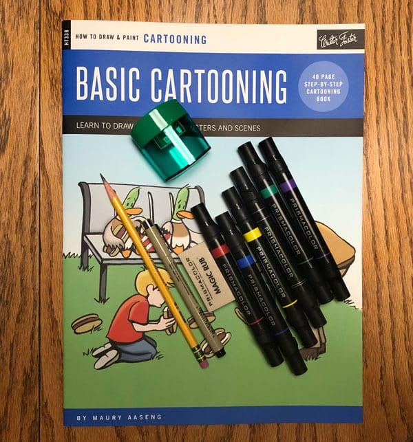 Drawing Book designed and printed by JKCC design and custom print shop in Paola KS